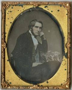 Samuel Bowles III, a little older in ca. 1852.