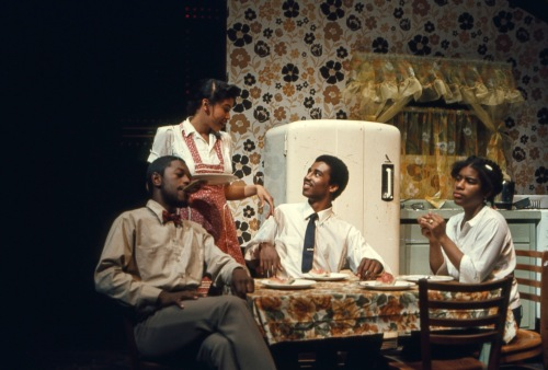 C'mon Back to Heavenly House by Ed Bullins, produced by the Masquers in April of 1977
