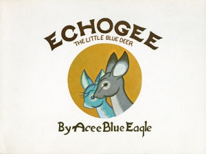 Echogee The Little Blue Deer Cover