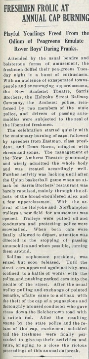 Amherst Student, Feb. 24, 1927
