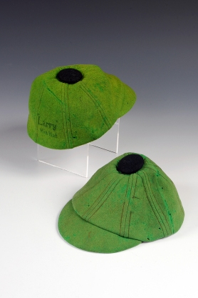 Pea-green beanies from ca. 1921