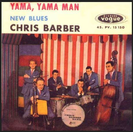 Chris Barber Band, album ca. 1960.