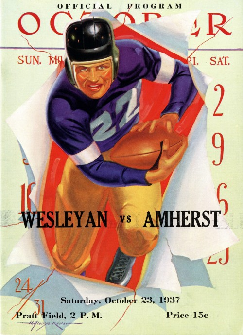 October 23, 1937 - Amherst won, 12-2