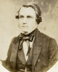Pres. William A. Stearns (ca. 1858), Thompson's friend and employer.