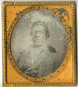 Daguerreotype of Charles Thompson by Chandler Seaver, Jr., of Boston, ca 1855