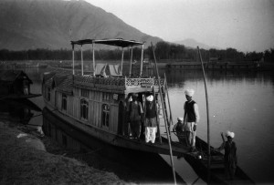 "The ""Narcissus,"" another houseboat the Wards saw and perhaps used during their travels."