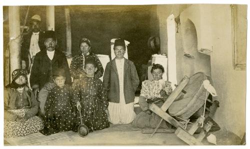 Armenian family in Turkey.