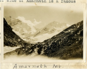 Amarnath Mountain (page 2, photograph 1).