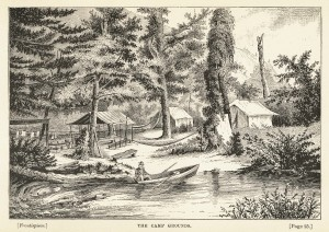 1883, Camping in the Alleghanies; or, Bodines by Thad S. Up De Graff