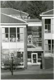 Social dorms stairwell B&G b19 f24a