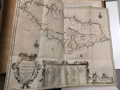 America 1671 Jamaicae