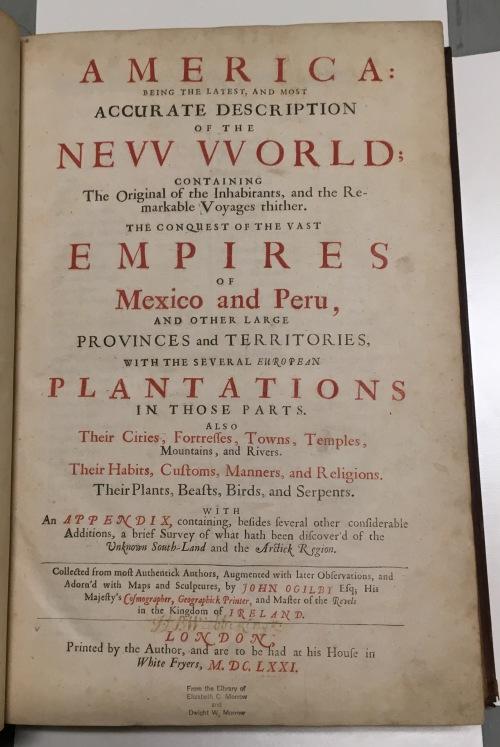 America 1671 title