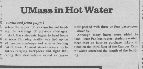 The Amherst Student, Sept. 11, 1980