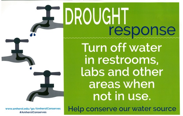 Amherst College 2016 Drought Response poster