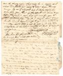 Sidney Brooks letter to his father Obed Brooks, April 23, 1839