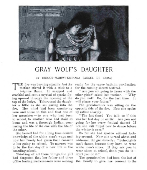Gray Wolfs Daughter