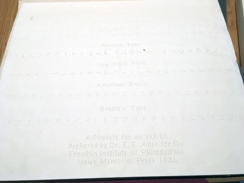 Alphabets for an Exhibit