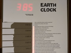 Earth Clock by Ginger R. Burrell
