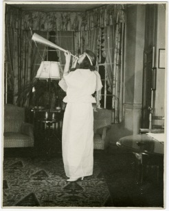 An unidentified angel from President King's 1936 party.