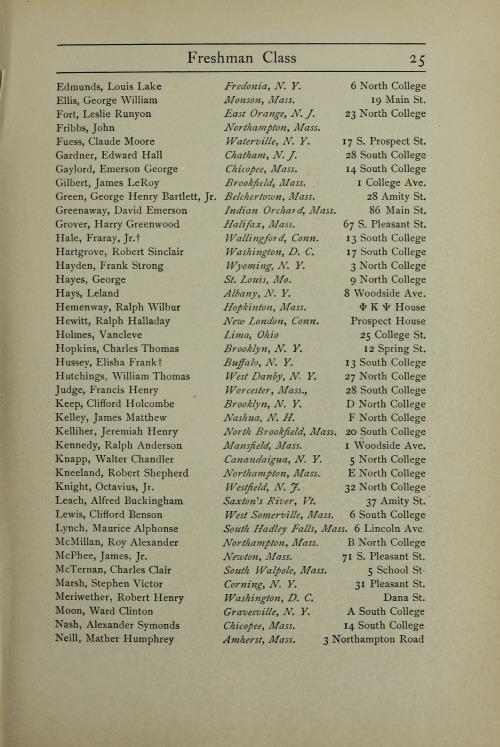 College Catalog, 1901-02